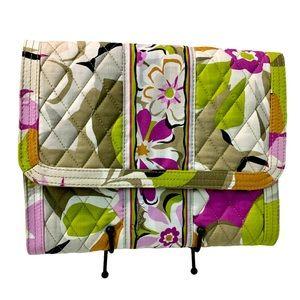 VERA BRADLEY Portobelo Road Cosmetic Bag -10X22